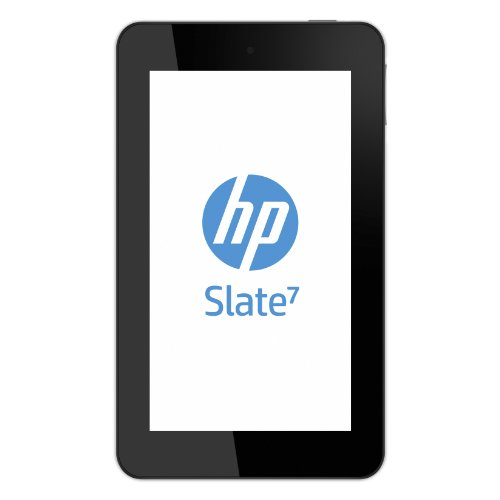 HP Slate7 17,7 cm (7 Zoll) Tablet-PC (ARM A9 Dualcore, 1,6GHz, 1GB RAM, 8GB Speicher, Android 4.1) silber