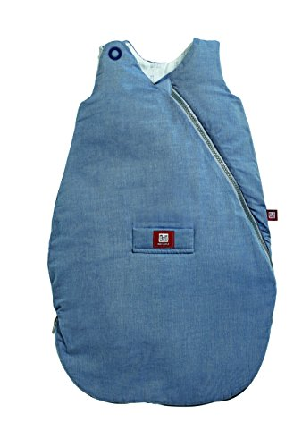 RED CASTLE Chambray Gigoteuse Ouatinée Bleu 12-24 Mois