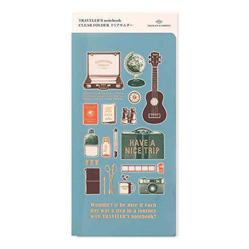 Traveler's Notebook Cartella Trasparente Regular Size in Edizione Limitata 2020