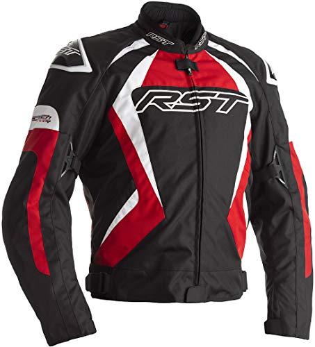 RST Tractech EVO 4 Motorrad Textiljacke Schwarz/Rot 54
