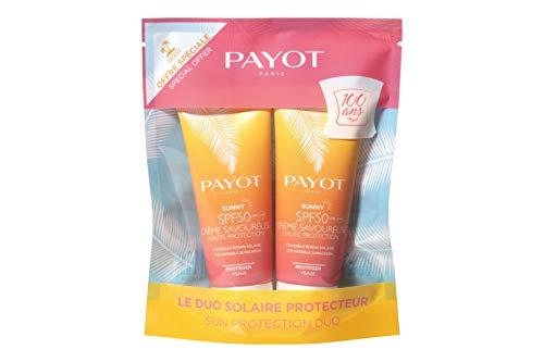 PAYOT PARIS Sunny Crema Facial SPF50 2X1 1UN Unisex Adulto, Negro, Estándar