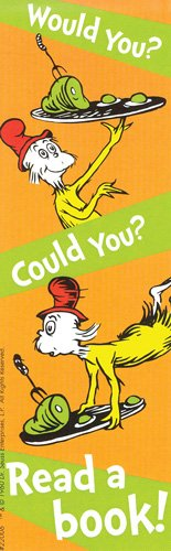 Dr. Seuss Would You? Could You? Read a Book! Bookmarks Pack of 200