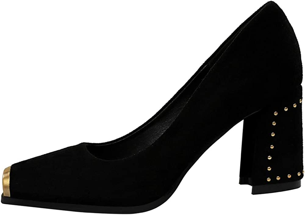 EveKitty Formal Mujer Primavera Zapatos Punta Quadrada
