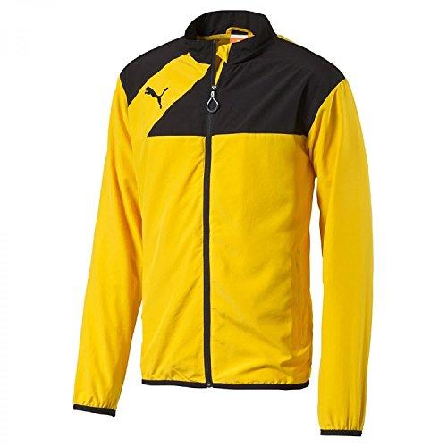 Sudadera amarilla Puma de fútbol para hombre