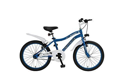 k 20 Zoll BMX Kinder Fahrrad Rad KINDERFAHRRAD JUGENDFAHRRAD Kinderrad Beleuchtung STVO Power BLAU