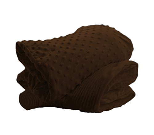"""DH Beacon: Weighted (4Lbs) Sensory Lap Blanket: 12"""" x 36 - Calming & Relaxing, Soft, Warm & Comfortable - Machine Washable."""