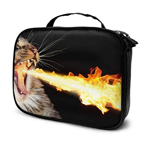 A Squirting Norwegian Forest Cat Travel Bolsa artículos