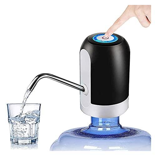 LANLANLife Carga USB Agua Dispensador Bomba Automática Bebida portátil Dispensador de Agua Mini Botella de Agua Pump Barrel Home Office Gadgets Bombas de Prensa de Mano eléctrica