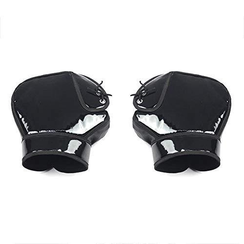 Delett - Guantes para Manillar de Motocicleta, Impermeables, Resistentes al Viento, para Motocicleta y Scooter.