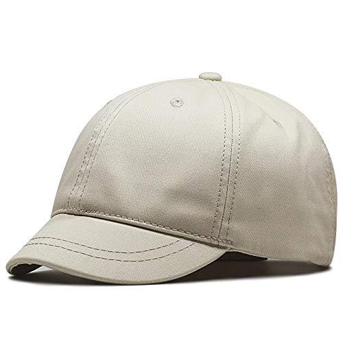fdhdfh Frauen Kurze Krempe Plus Size Baseball Caps Mann Racing große Größe Sport Sonnenhut 60-68Cm Lightkhaki