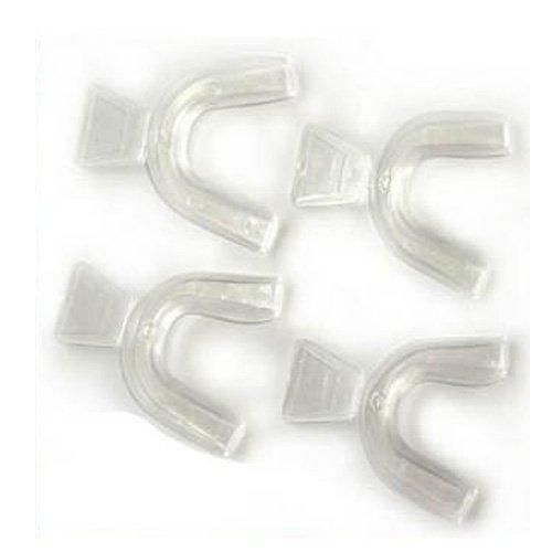 2 Paar Wechsel THERMOFORMING Zahnschienen/Schutzeinrichtungen für Zahnaufhellung/BLEICH