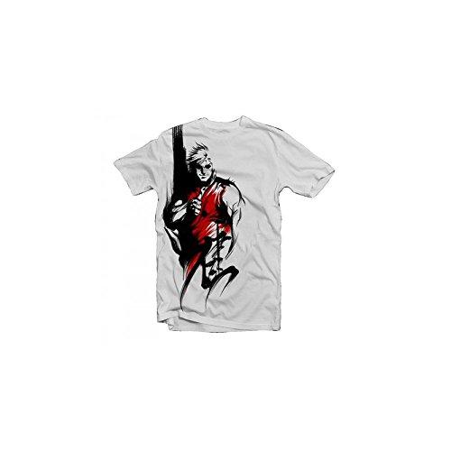 Le Vert Sacr - Fire Inside - T-shirt Homme, Blanc - Blanc, M