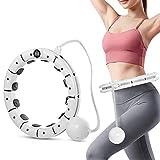 Urisgo Descuento Smart Hoop Fitness Hoop Adult Fitness Hoop Pérdida de Peso Ejercicio Deportivo Abdominal
