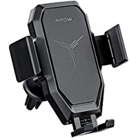 Mpow 2-In-1 Wireless Charging Car Phone Mount
