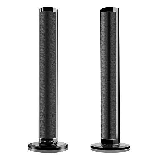 Altavoz, Barra de Sonido de Sonido Envolvente estéreo para Cine en casa de 100-240 V, 3 Modos de ubicación SoundBox Admite AUX/Fibra/HDMI HD/Dual Lotus RCA/Subwoofer(UE)