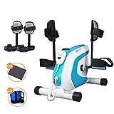 Lh$Yu Pedal eléctrico ejercitador, Fisioterapia del Brazo/Pierna del Mini Bicicleta estacionaria Ejercicio de la Pierna Vendedor Ambulante para Mayores minusválidos