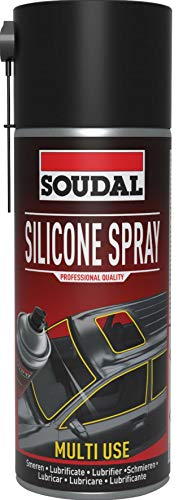 Soudal Silicona en Spray de 400 ml