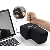 OnefunTech Big USB Enter Key Anti Stress Button Decompression Computer Any Vent Pillows Desktop Pillow Offices Stress Relief Toy