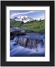 Media Storehouse Framed 15x11 Print of Edith Creek on Paradise Trail Near Mt. Rainier National Park Lodge (19038639)