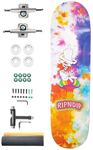 Rip N Dip Smokin Custom Complete Pro Skateboard Kit - 8.5