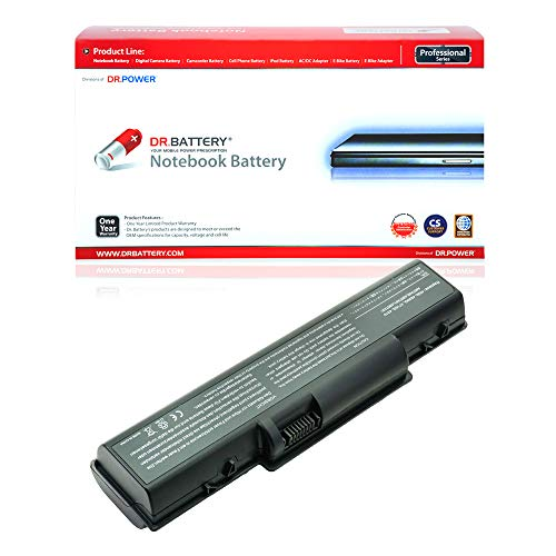 Dr. Battery Laptop Battery for Acer AS07A31 AS07A41 AS07A51 AS07A71 Aspire 5735Z 5737Z 5738 5738G 5738Z 5738ZG 5740G 5535 5536 5536G 5542 5542G 5735 5738DG 5738DZG 5738PZG 5740 [11.1V/6600mAh/73Wh]