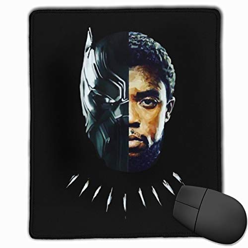 Wakanda-Forever-Black-Panther Non-Slip Rubber Mouse Pad, Used in Office, Desktop, Washableone Size