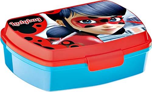 Brotdose Miraculous Ladybug Marinette Lunch box für Kinder Mittagessen Kunststoff.