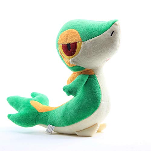 changshuo Juguete de Peluche Altura 27 Cm Anime Snivy Snake Peluches Muñeca Peluches Juguetes Lindo Pikachu Charmander Eevee Series Muñecos De Peluche Regalo para Niños
