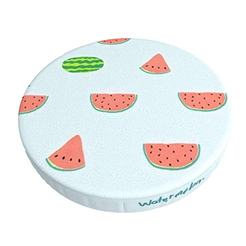 Round Bar Stools Cover,Wassermelone,Stretch Chair Seat Bar Stool Cover Seat Cushion Slipcovers Chair Cushion Cover Round Lift Chair Stool