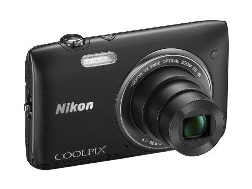 Nikon COOLPIX S3500 20.1 MP Digital Camera with 7x Zoom (Black)