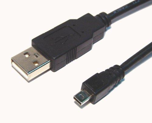 Panasonic Lumix DMC-LZ7 - Cable USB para cámara digital (8 pines)