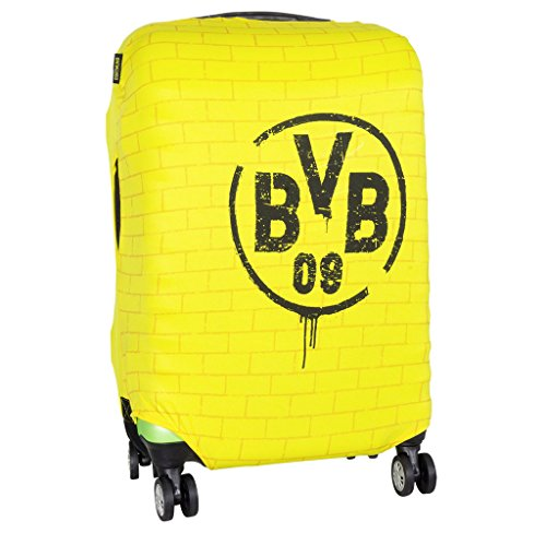 MarkenMerch Kofferhülle Borussia Dortmund Koffer, 77 cm, Gelb Mit Logo