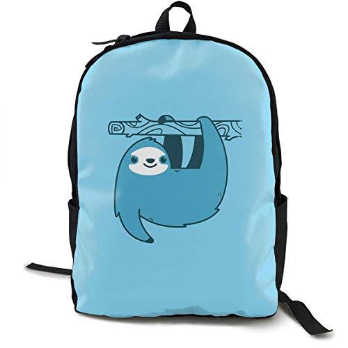 sghshsgh School Backpack Sloths Jetpacks 3D Adult Outdoor Leisure Sports Backpack high School Computer Bag
