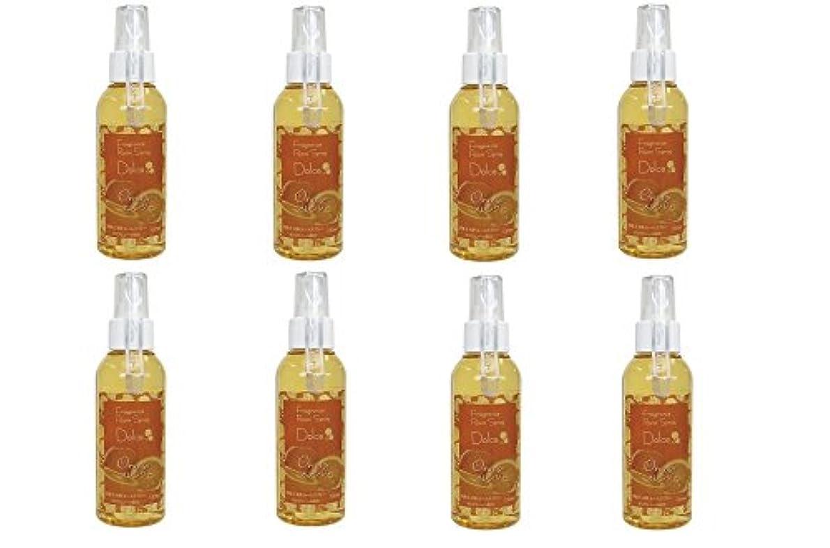 利用可能勇敢なふさわしいパルマート DL-RS-06  フレグランス ルームスプレー ドルチェ フレッシュな オレンジ  の香り 120ml 空間用 芳香剤 お得な 8個セット
