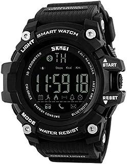 SKMEI 1227 Men Smart Sport Bluetooth Pedometer Waterproof Digital Clock Watch