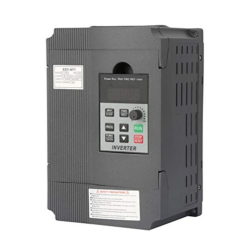 Variador de frecuencia, 1.5KW 220V Inversor monofásico Inversor monofásico de entrada simple y trifásico Inversor de uso general for motor trifásico de corriente alterna