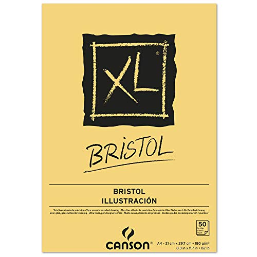 Canson Bloc de Dibujo, Blanco, A4, 21 x 29.7 cm