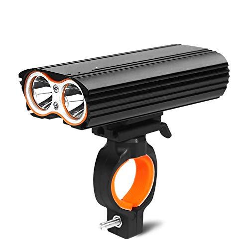 zihui Fiets licht mountainbike koplamp racefiets verblinding zaklamp USB opladen waterdicht anti-mist nacht rijden lamp