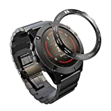 Shan-S for Garmin Fenix 5X Scale Watch Loop,Sport Anti Scratch Stainless Steel Smart Watch Ring Adhesive Cover Collision Protector Metal Case for Garmin Fenix 5X Smartwatch