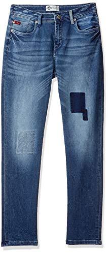 Lee Cooper Boy's Slim Fit Jeans (LCBB7013INDIGO_Indigo_7-8 Years)