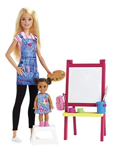 Barbie GJM29 Art Teacher Doll