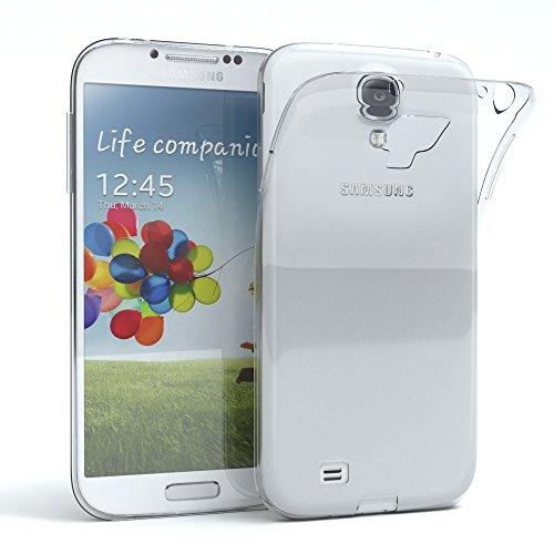 EAZY CASE Hülle kompatibel mit Samsung Galaxy S4 / S4 Neo Schutzhülle Silikon, Ultra dünn, Slimcover, Handyhülle, Silikonhülle, Backcover, Durchsichtig, Klar Transparent