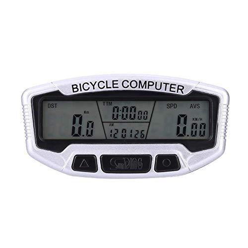 MAIKONG fietscomputer snelheidsmeter fietscomputer snelheidsmeter waterdicht bedraad fietssensor voor snelheid en afstand track blauwe achtergrondverlichting