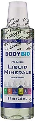 BodyBio Pre-Mixed Liquid Minerals, 8 oz from BodyBio