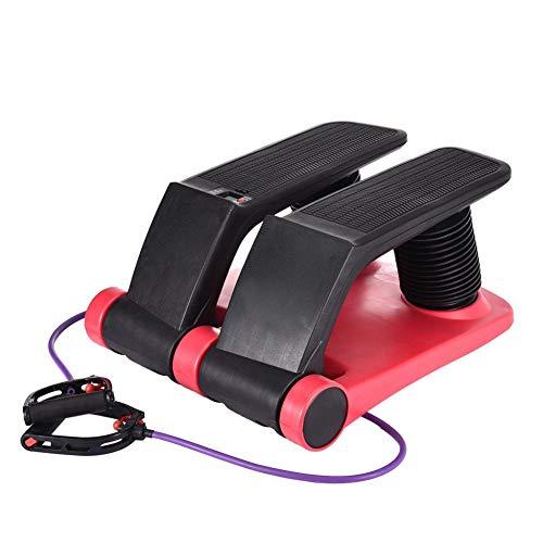 Kusou Air Stepper Climber Fitness Machine Resistant Cord Air Step Aerobics Machine Stair Stepper Exercise Equipment CD Exercise Slimming Machine