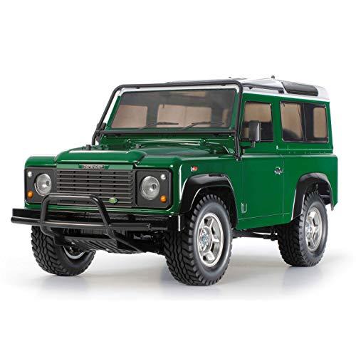 Tamiya 58657 58657-1:10 RC Land Rover Defender 90 CC-01 - Auto/Veicolo radiocomandato, modellino da Costruire, Non Verniciato