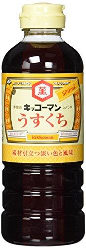 KIKKOMAN Usukuchi Shoyu (1 x 500 ml)