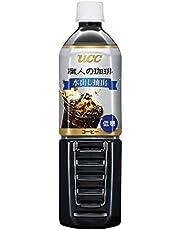 【Amazon.co.jp限定】 UCC 職人の珈琲 水出し抽出 低糖 コールドブリュー ペットボトル 900ml ×12本