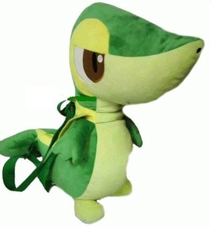 diseños exclusivos Pokemon Pokemon Pokemon Plush Backpack Snivy Grass Estrellater  elige tu favorito