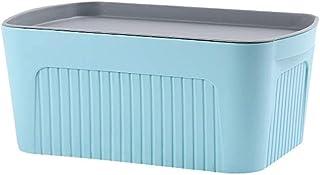 O&YQ Sac de Rangement/Paniers de Ménage , Boîte de Rangement Pour Panier de Rangement en Plastique Boîte de Rangement Pour...
